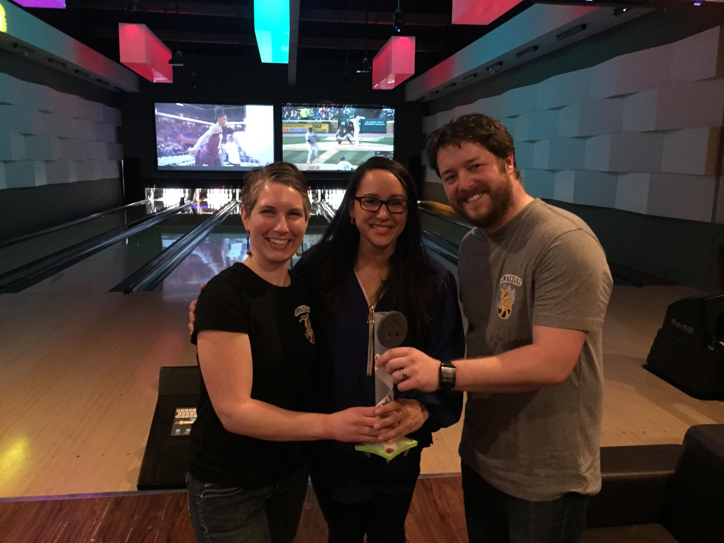 bowling touney champs!