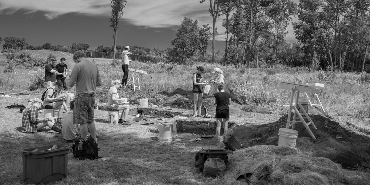 June, 2017 Excavation, with Sissel Schroeder and Team, UW-Madison