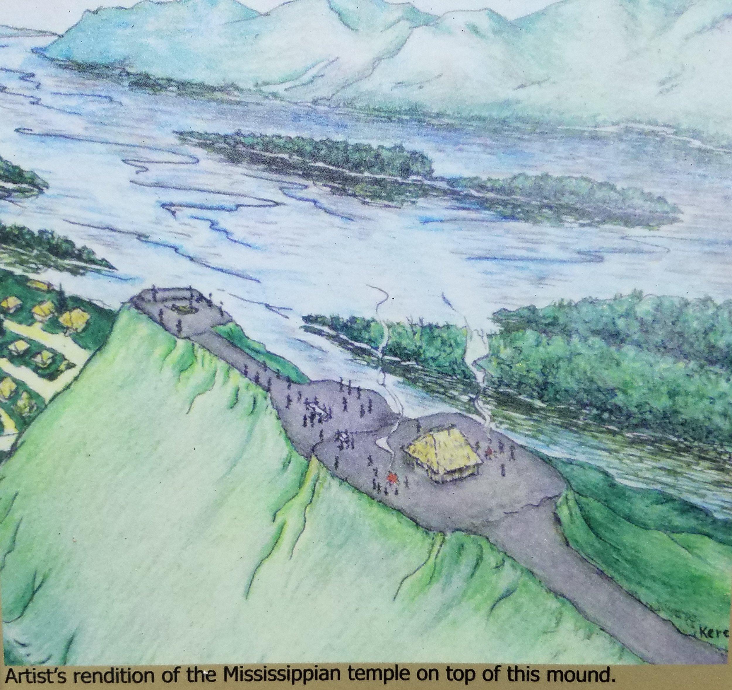 Trempealeau Mounds Painting