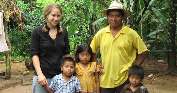 Becky and Ngobe Children