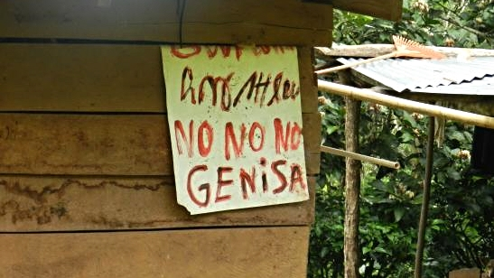 Opposition to Barro Blanco is strong in the Comarca, though construction marches onward.