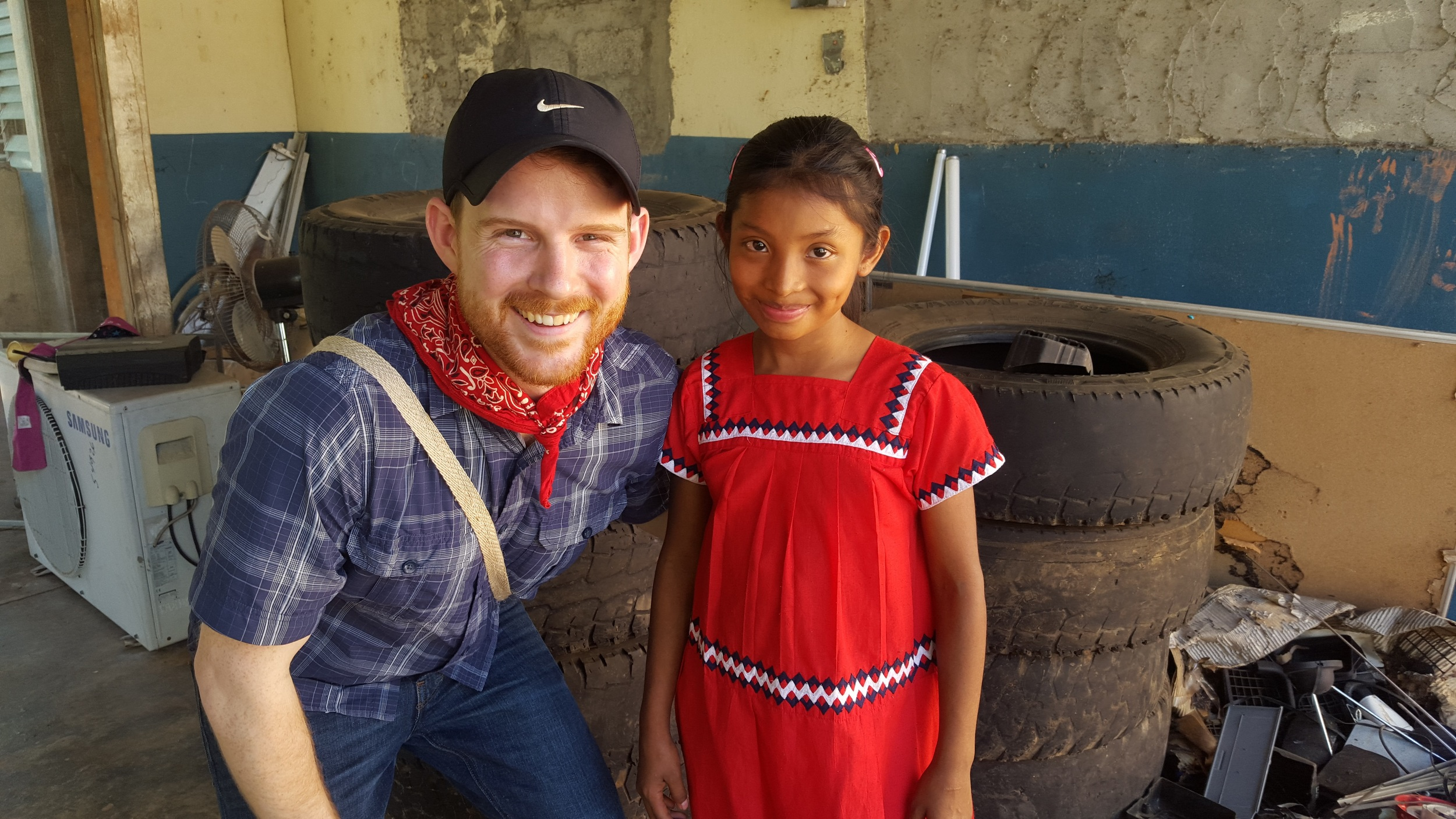 6. FFC Secretary Brooks Winner reconnected with his host sister Yasmin who he stayed with in 2008 during his study abroad trip to Quebrada Guabo. Brooks' connection with Yasmin and her family during his study abroad inspired him to co-found Few for Change with his classmates.