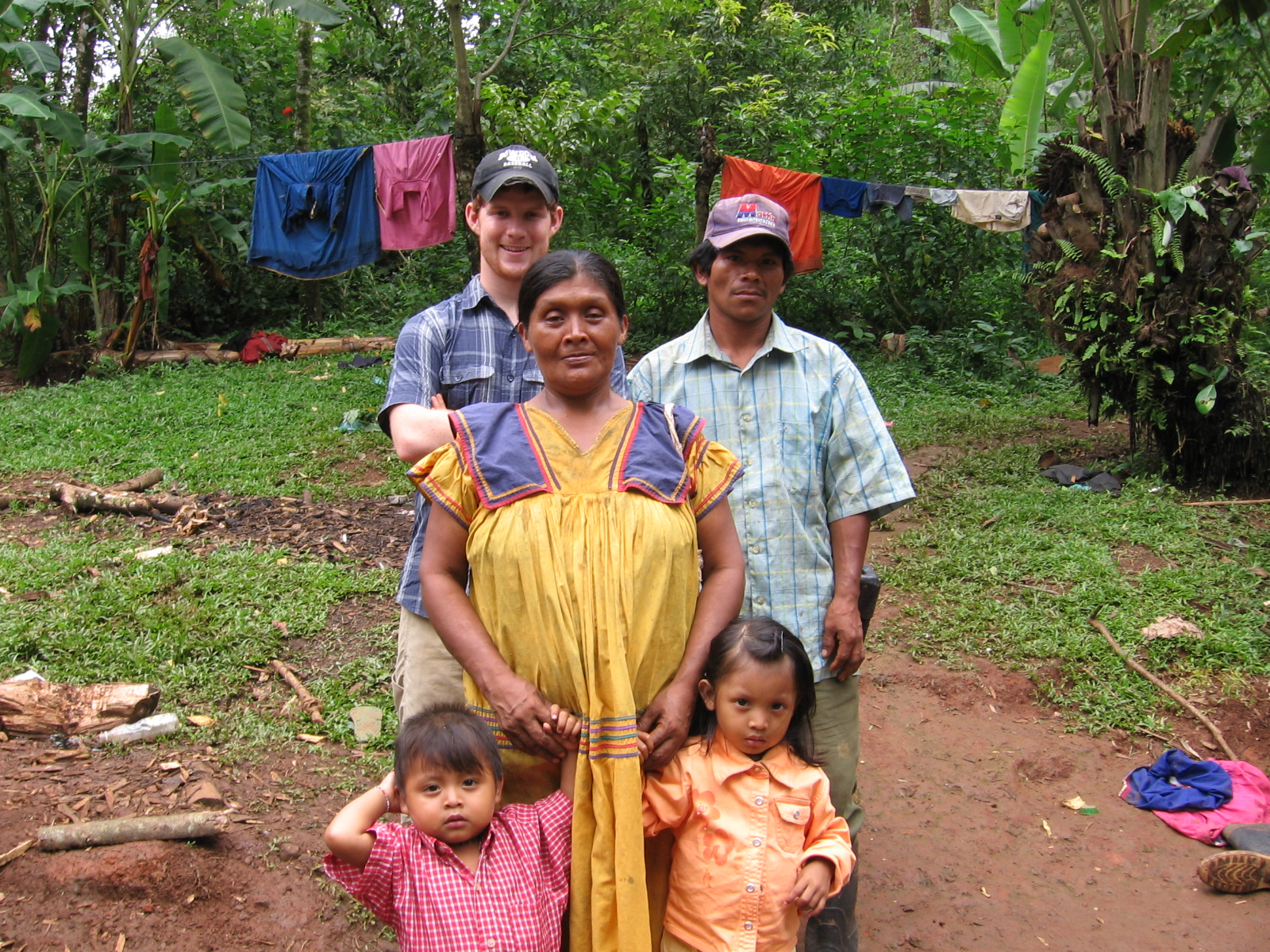 Elena, Olmedo, and Yazmin welcomed me warmly into their home.