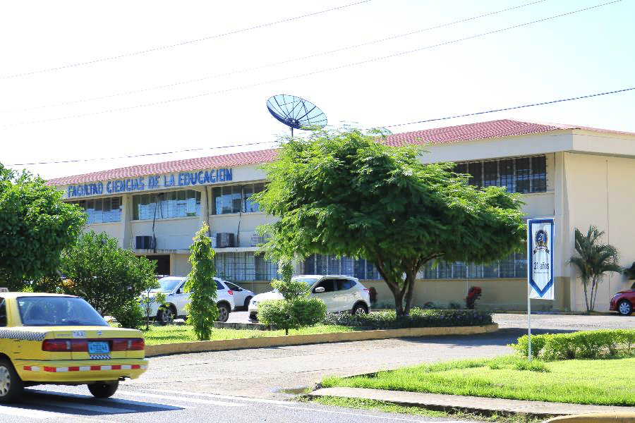 A view of UNACHI's campus.