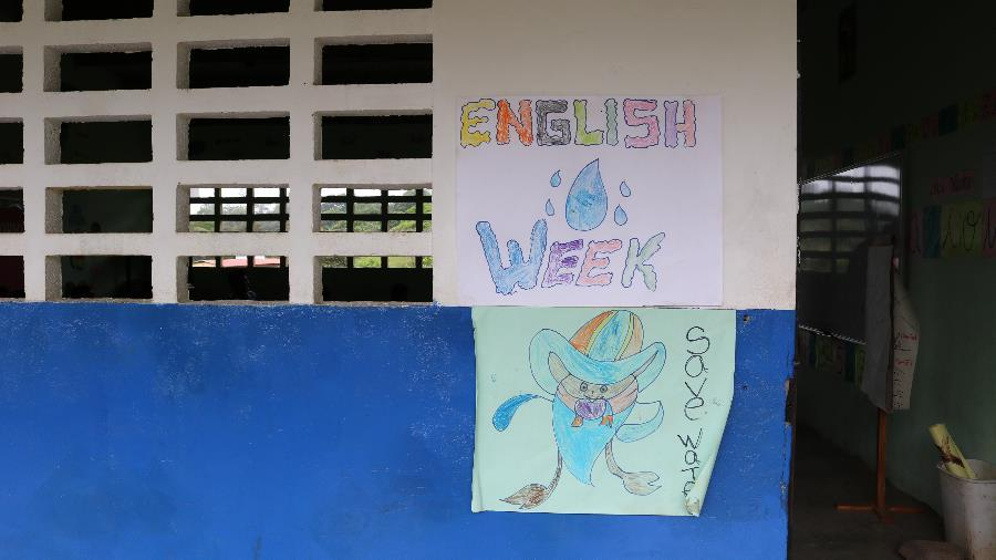 "It's ""English Week"" in Chami!"