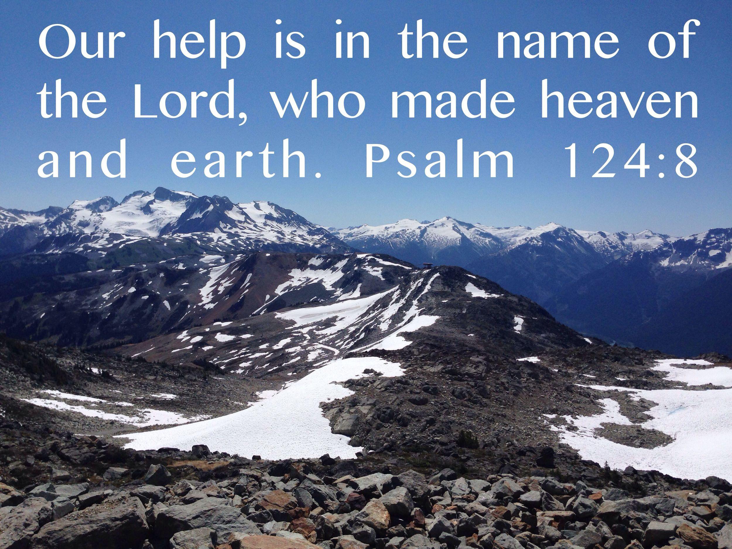 Psalm 124 nadinewouldsay