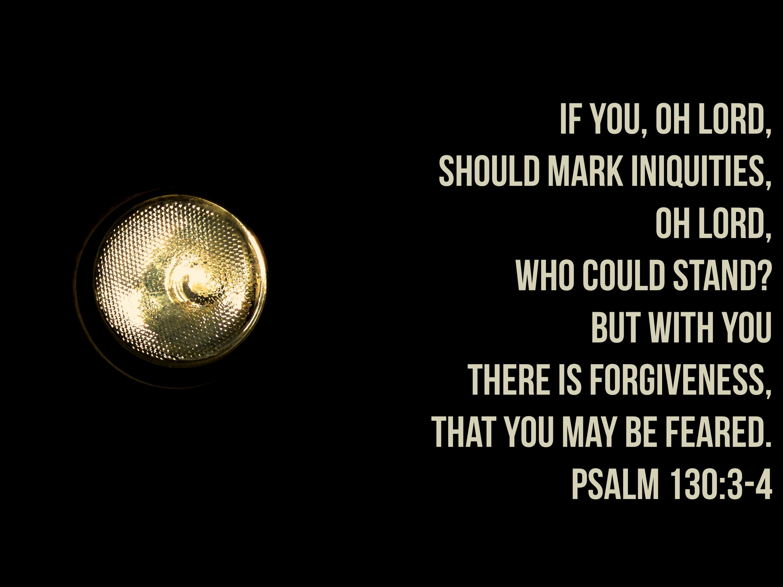 Psalm 130 via nadinewouldsay