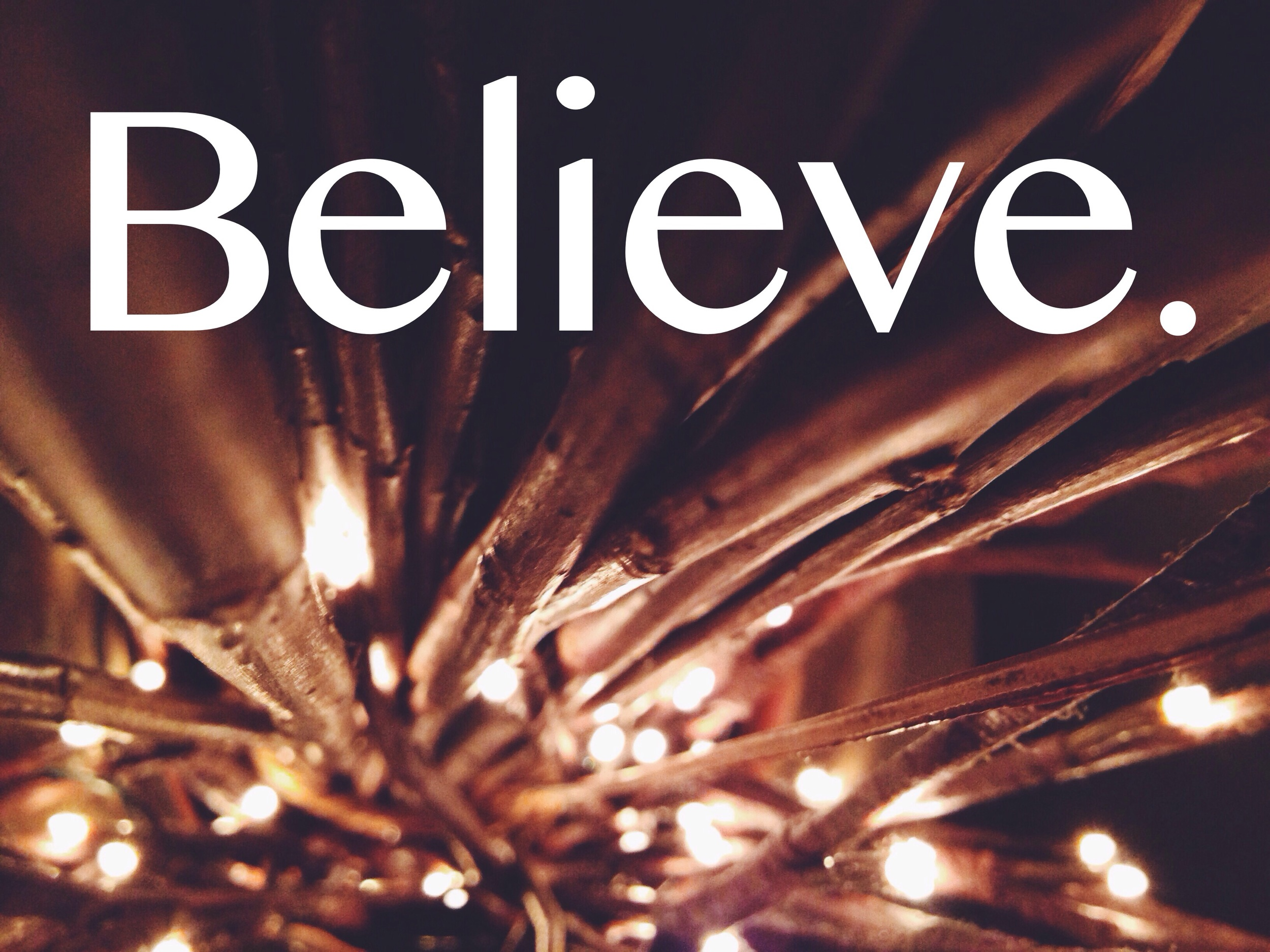 Jesus is Lord. Do you believe?
