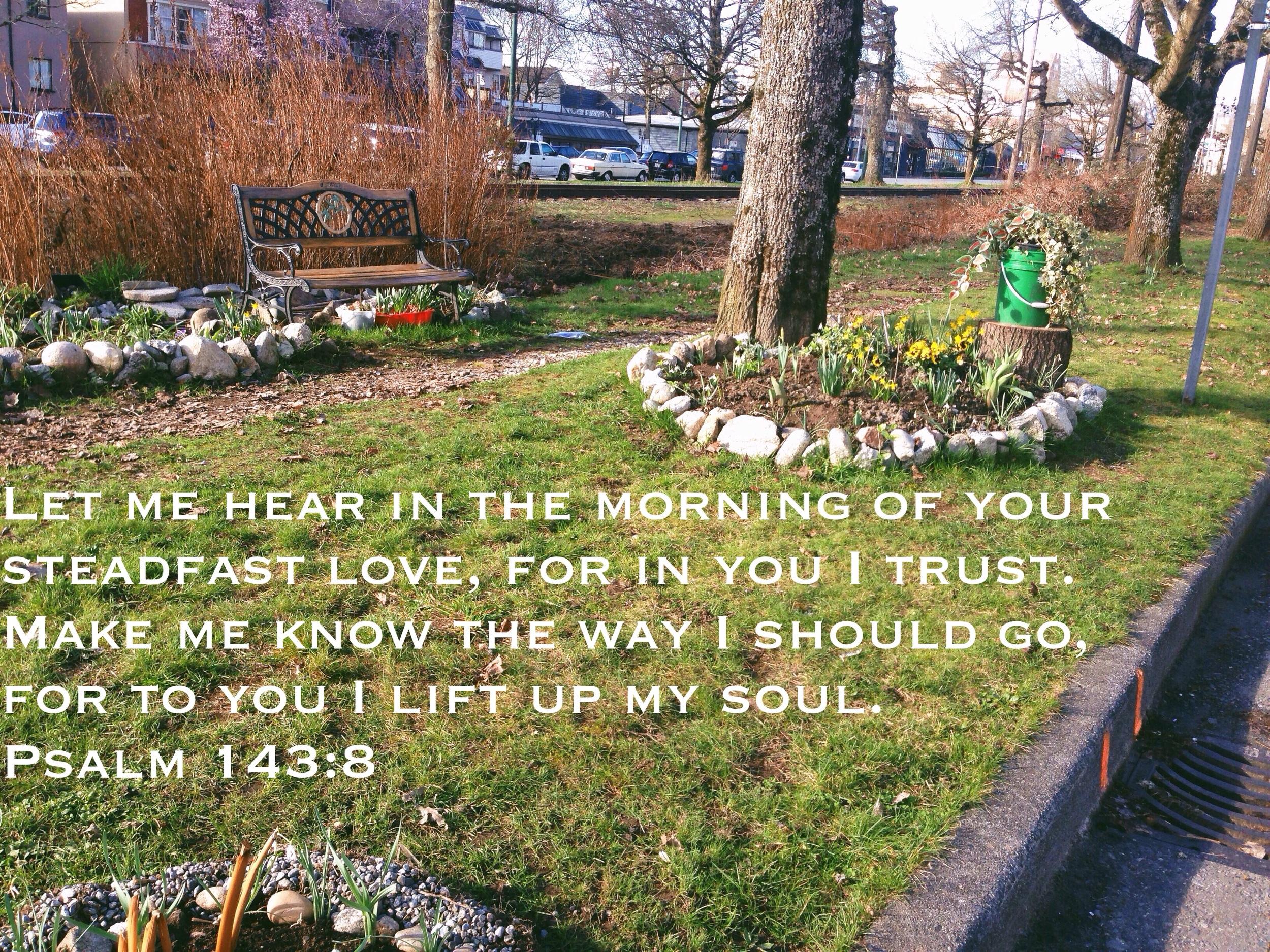 Psalm 143 via nadinewouldsay