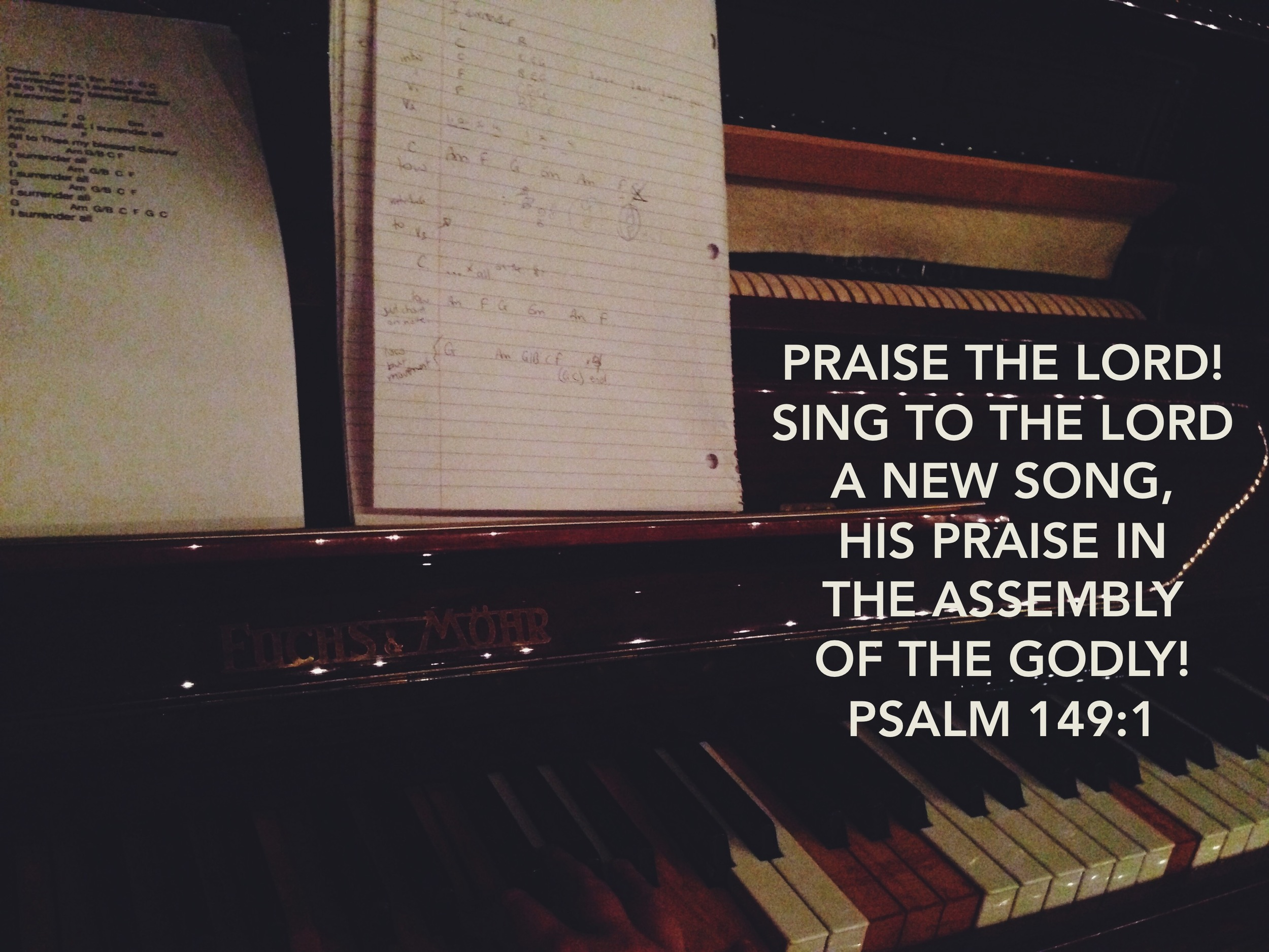 Psalm 149 via nadinewouldsay