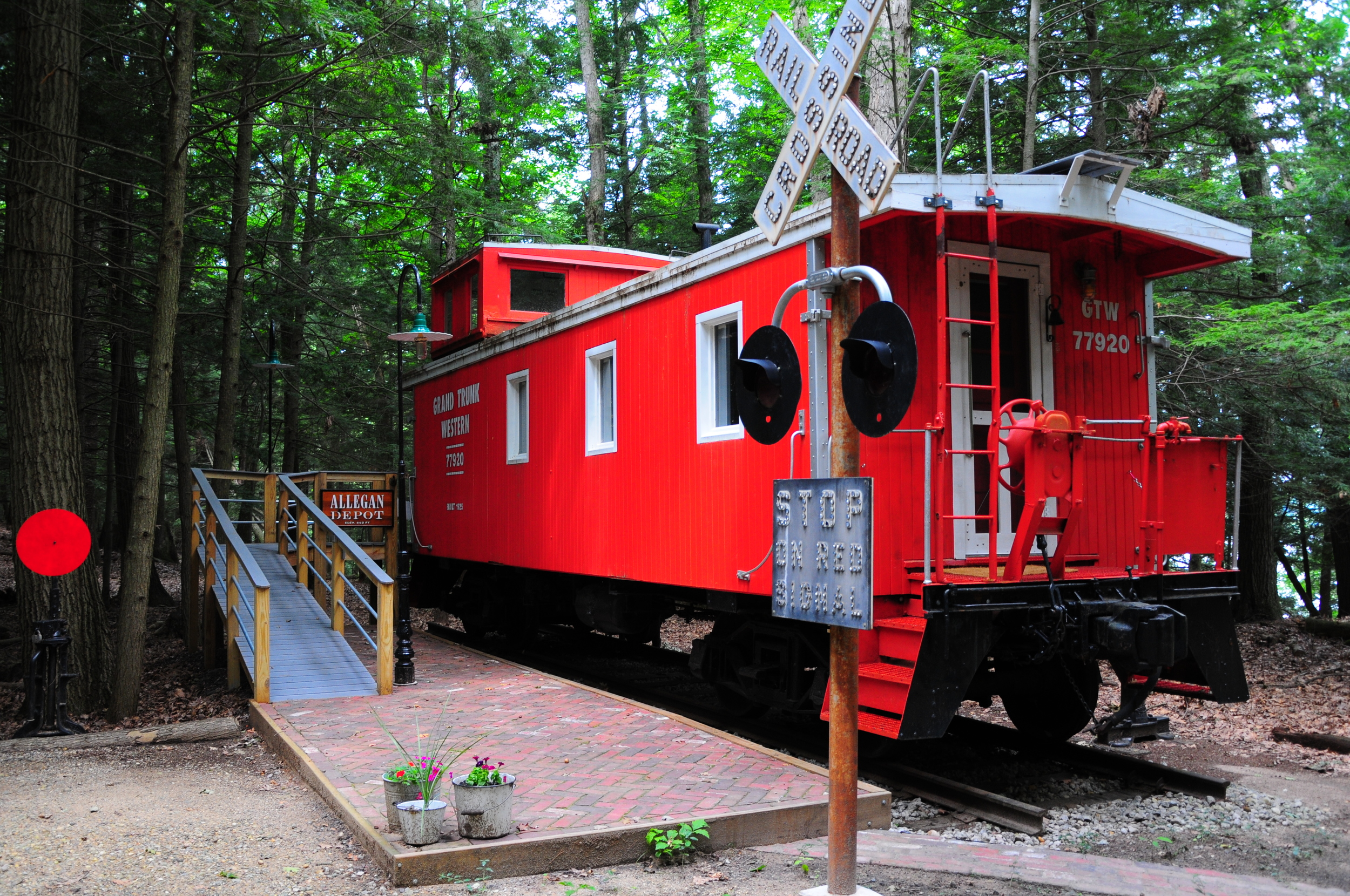 Our 1893 Caboose - a truly unique stay!