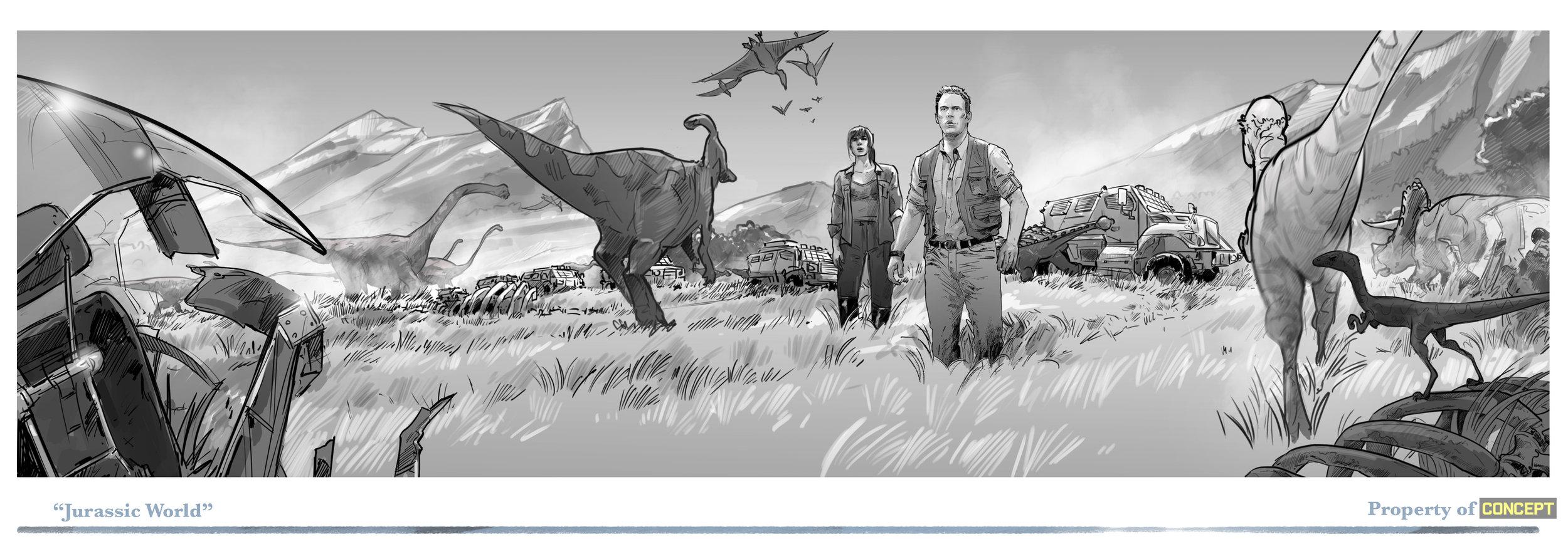 Sketch art pages_Jurassic W.jpg