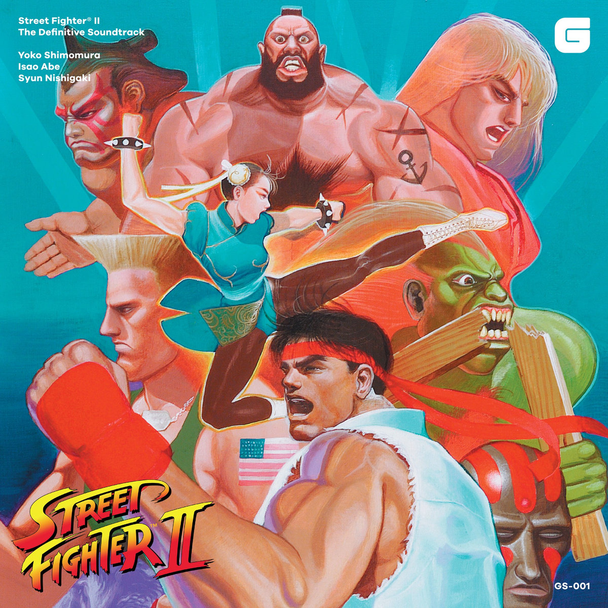 Street Fighter II The Definitive Soundtrack CD: $25 / LP: $75