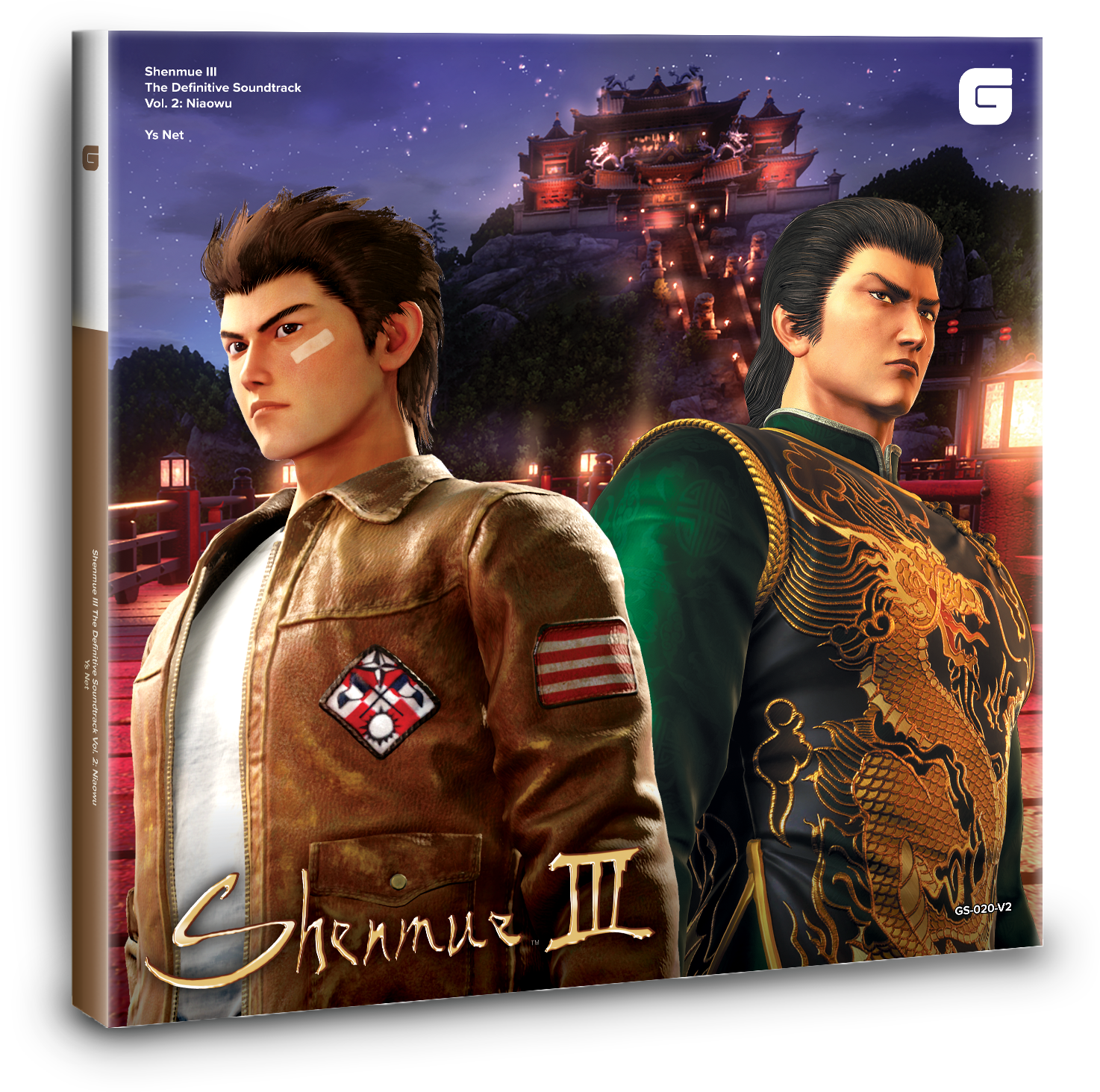 Shenmue III The Definitive Soundtrack Vol. 2: Niaowu (GS-020-V2) Mockup. Artwork is not final and subject to change.