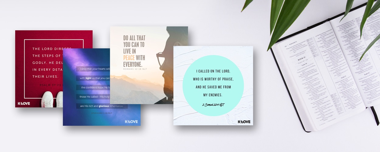 Positive & Encouraging K-Love - Mission: To create compelling media that inspires and encourages you to have a meaningful relationship with Christ.