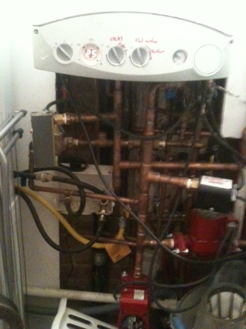 We have no words for this poor tenant that got stuck with this installation due to her Landlords frugalty.