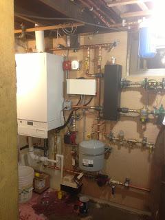 Aymar Street Viessmann Vitodens 200W with Viessmann indirect hot water heater