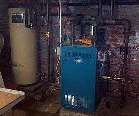 Putnam Steam Boiler Installation, SlantFin