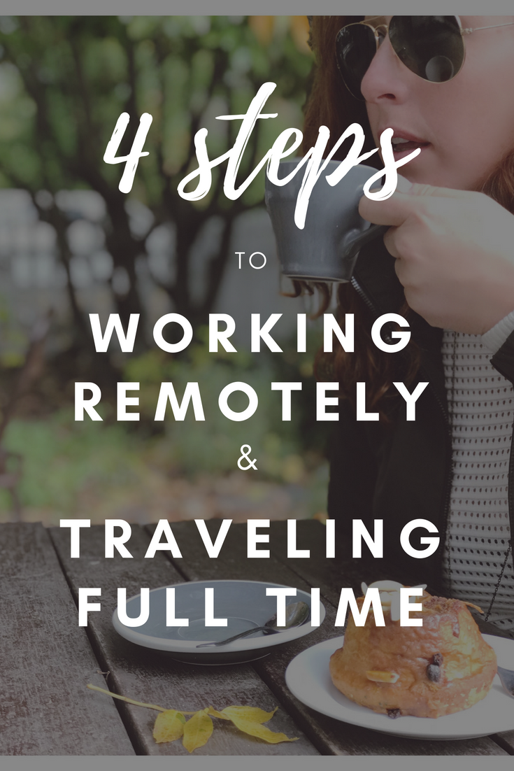 The number one question I get in my travels..... - How were you able to find a remote job and start traveling full time?