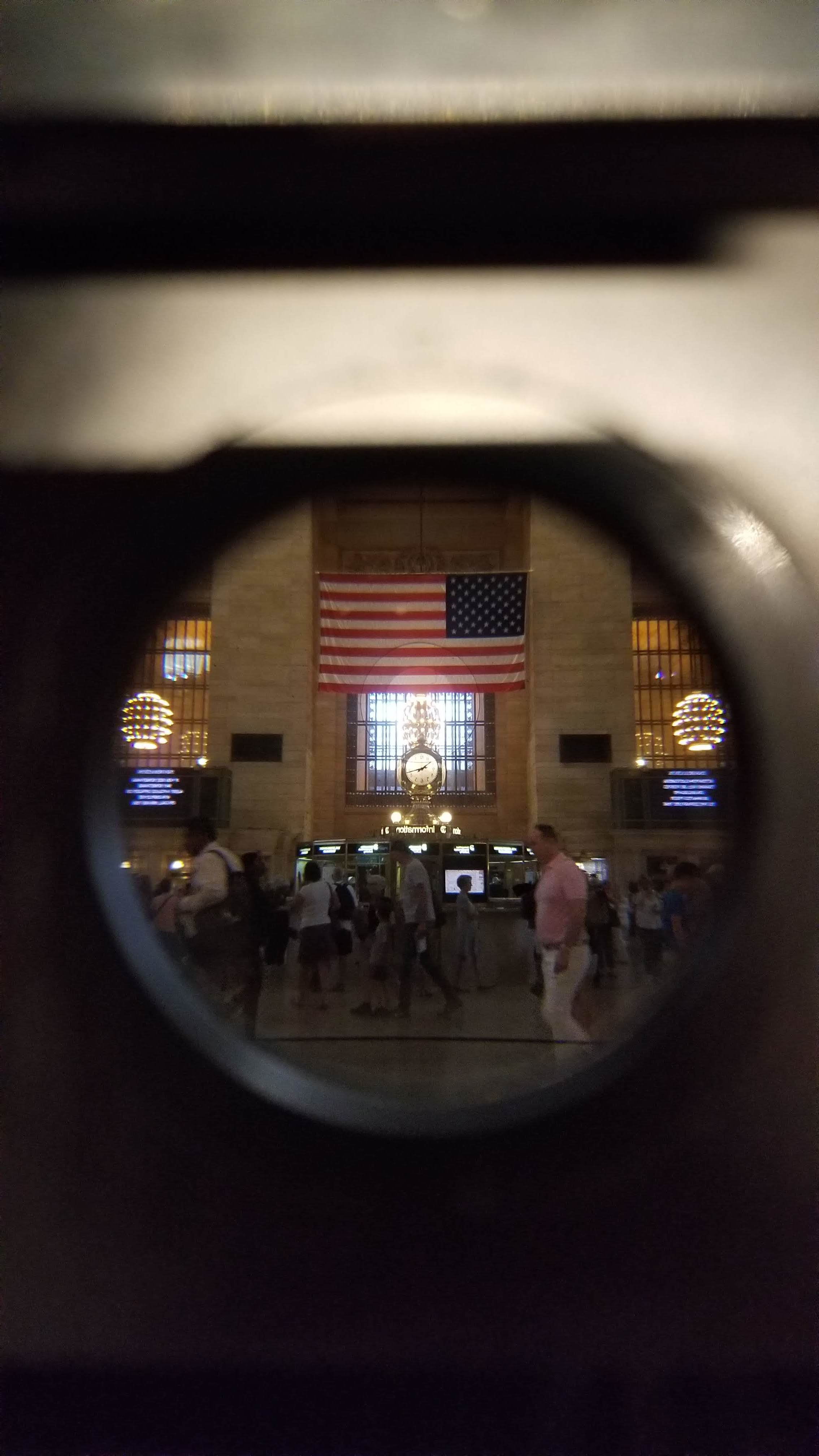 Through The View Finder, Grand Central Terminal, 2019