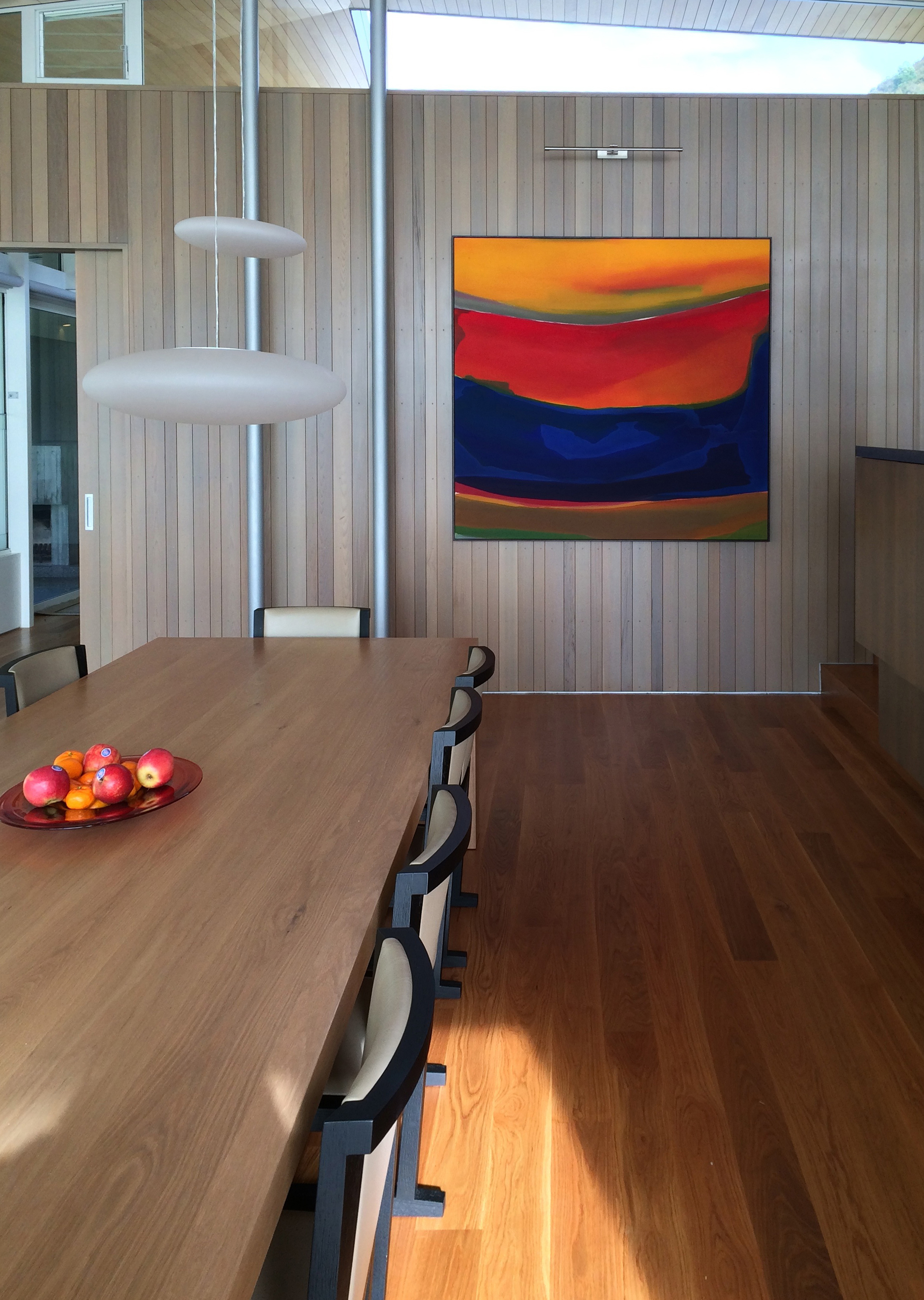 Gretchen Albrecht,  Sky /Sunset; Interior Sea,  1975. Private residence