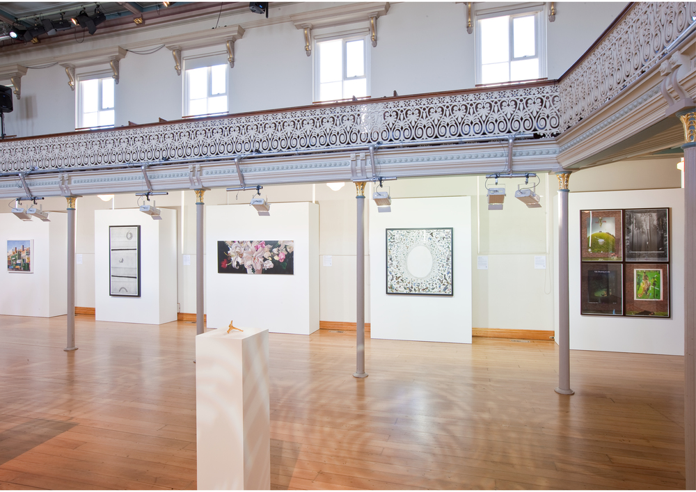 Art for a Cure, Installation view