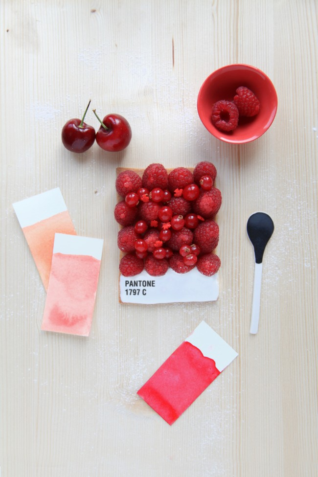 Pantone Tarts, a French style and food blog by Emilie Griottes.