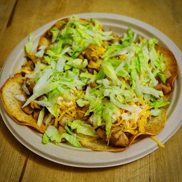 My #healthy #glutenfree take on @deltaco's chicken soft tacos using my #cookuary #tarotillas