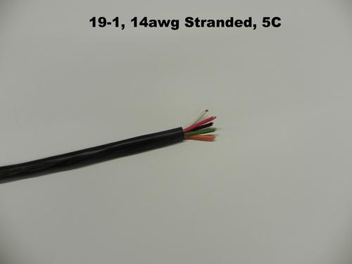 19-1, 14AWG STR, 5C