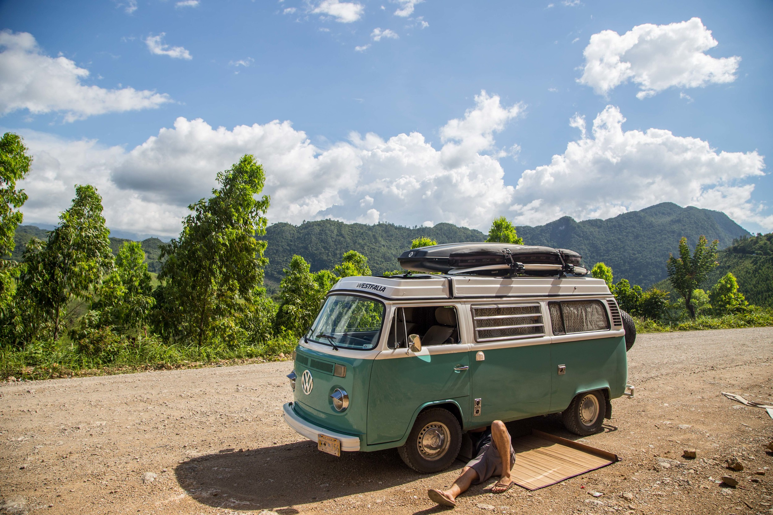 Everyday there seems to be some variation of this. Welcome to VW Bus ownership