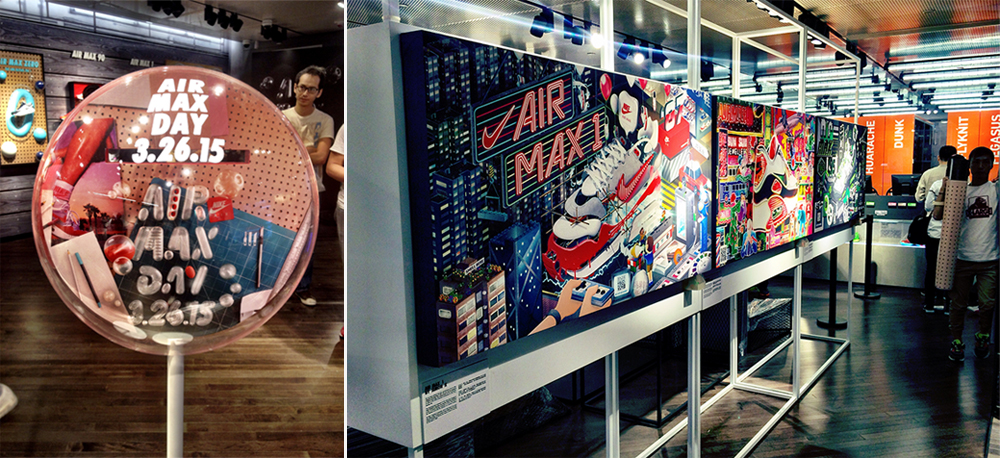 Air Max Day in store (Nike Kicks Lounge, Harbourside, Tsim Sha Tsui