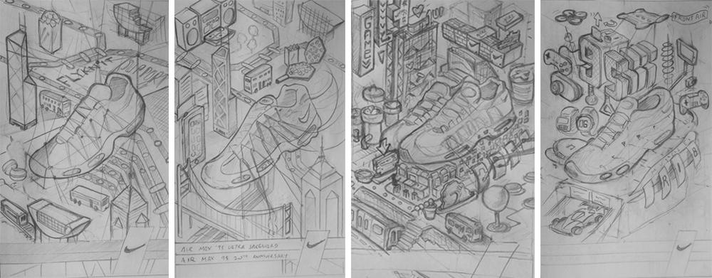 Draft working drawings