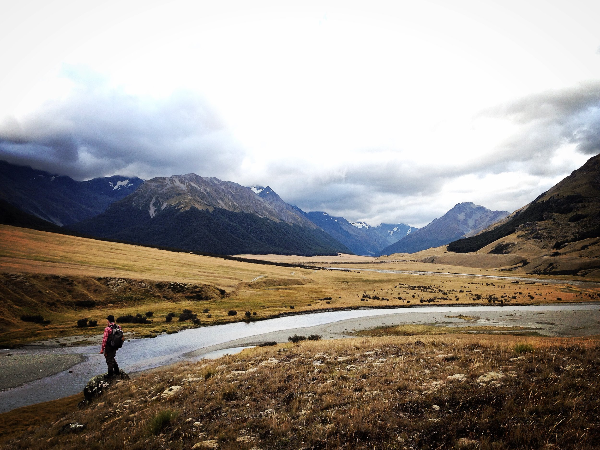 Backcountry fly fishing New Zealand