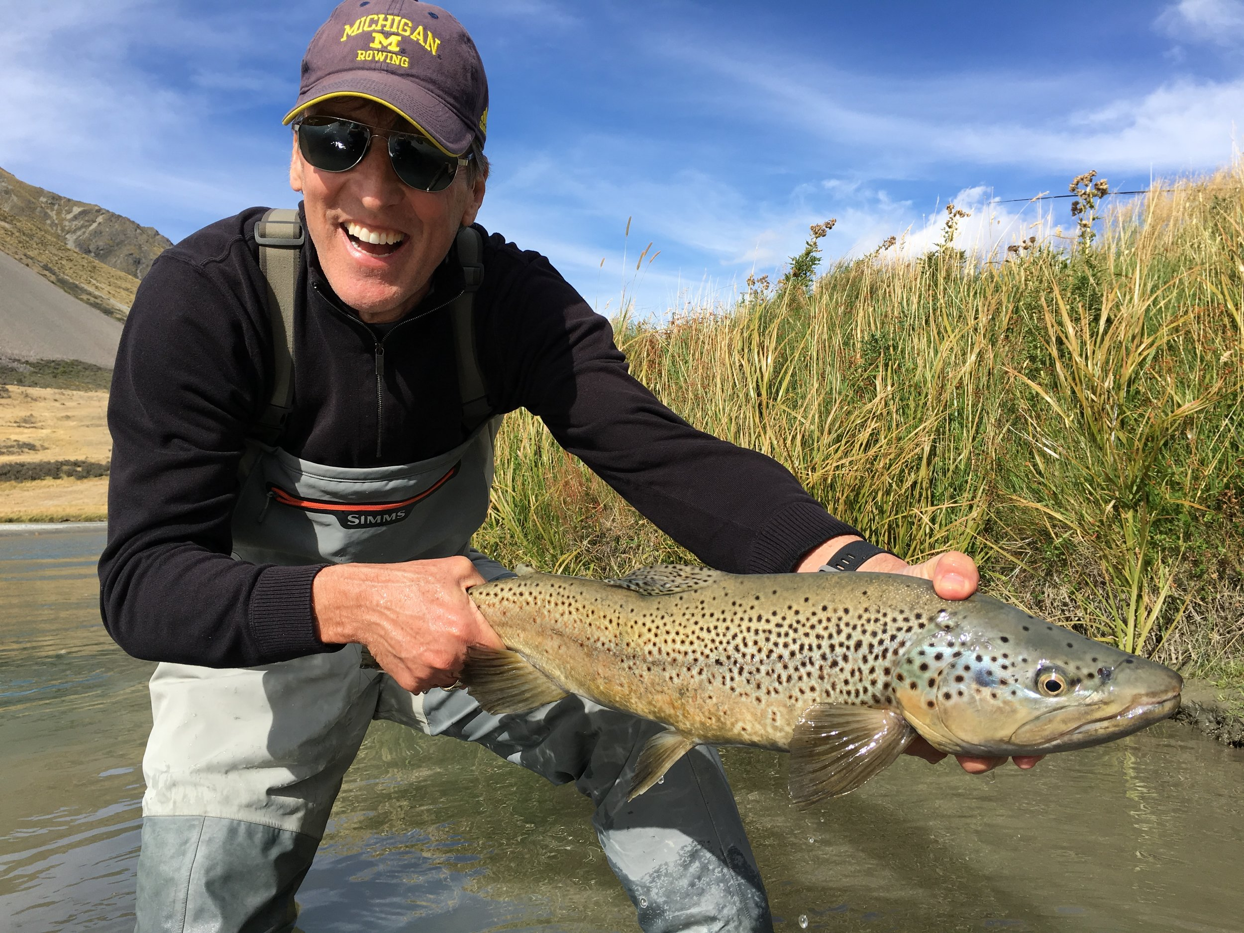 New Zealand guided fly fishing