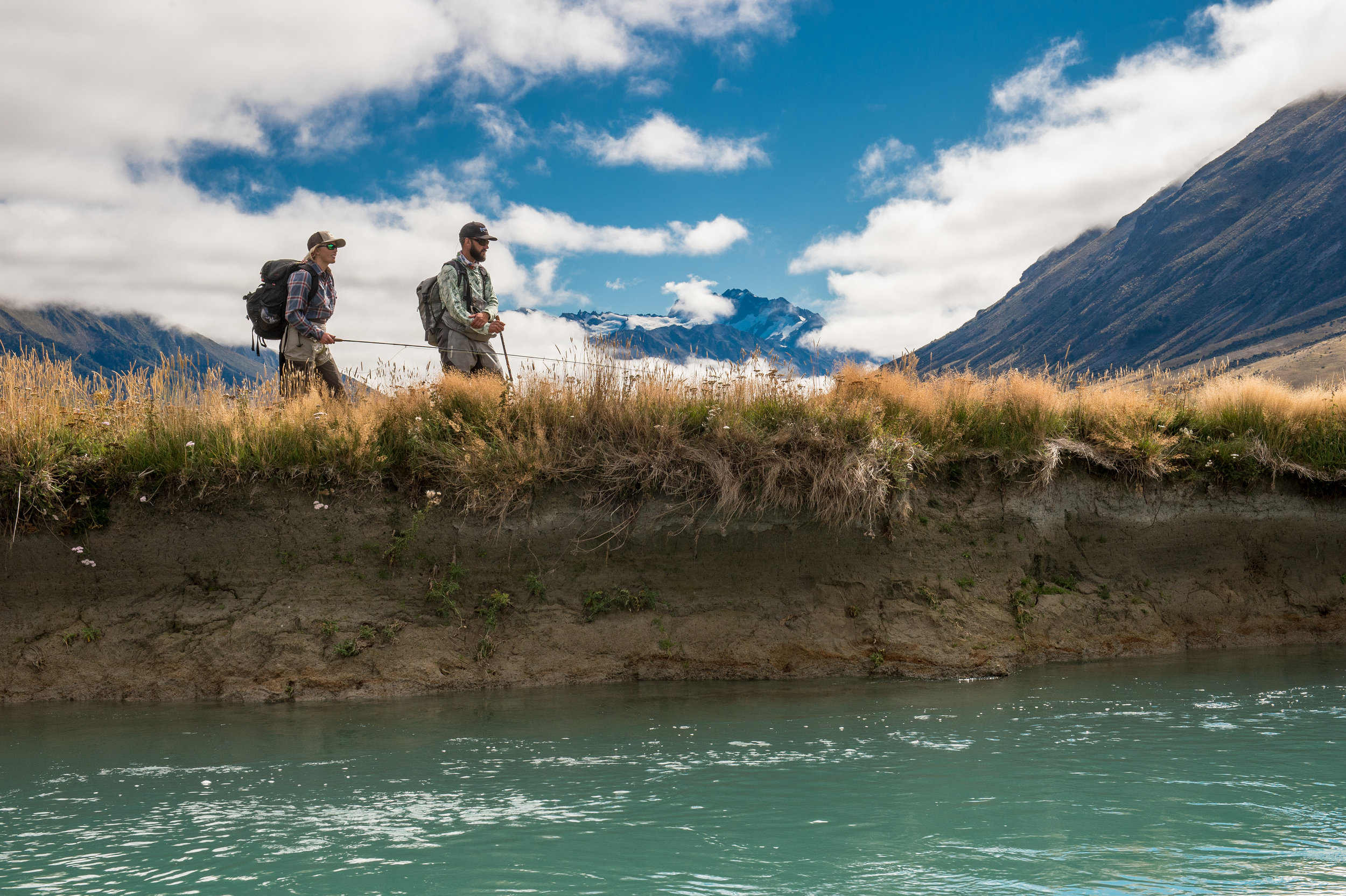 New Zealand fly fishing Yellow Dog