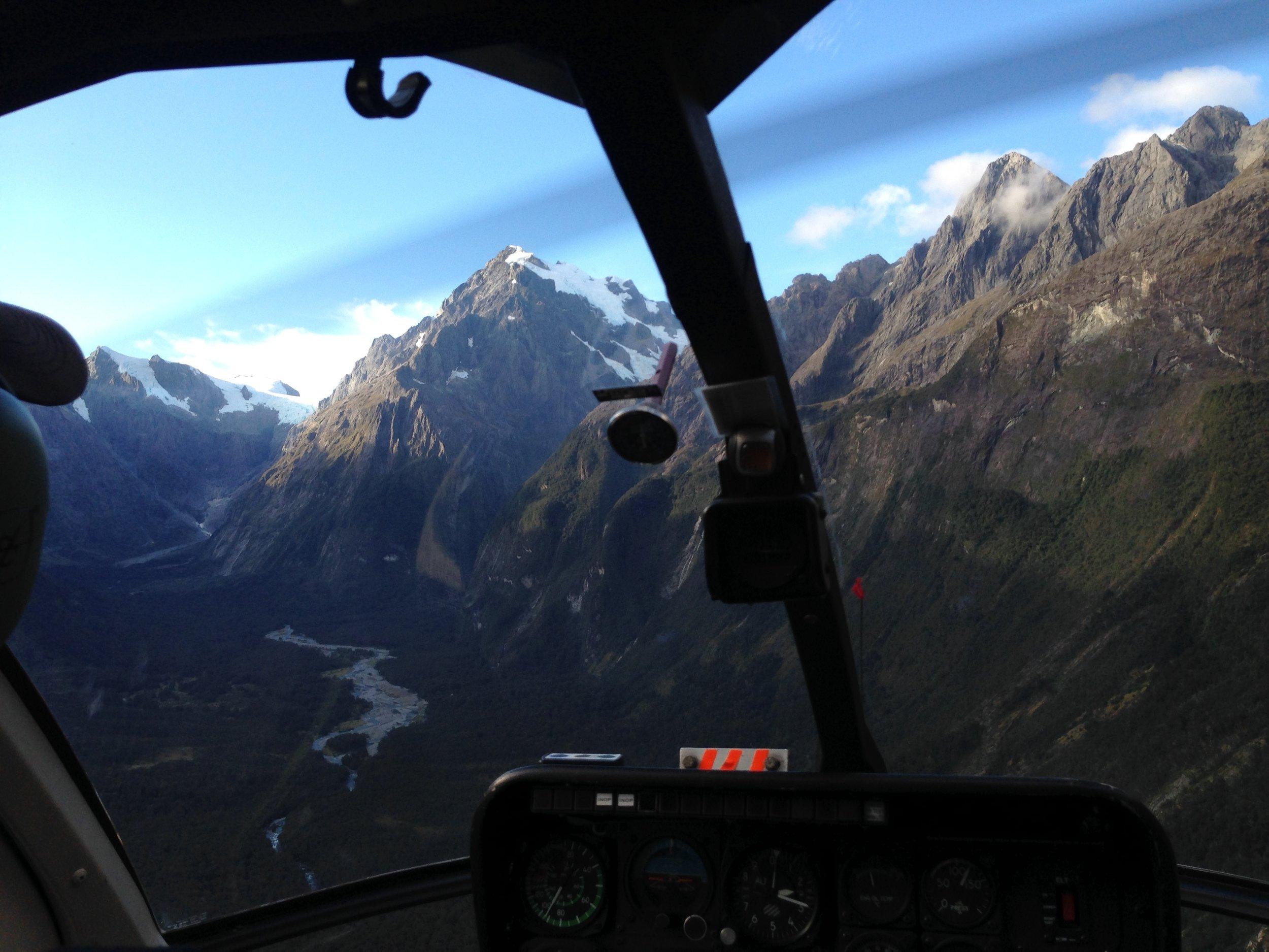 Heli fly fishing New Zealand