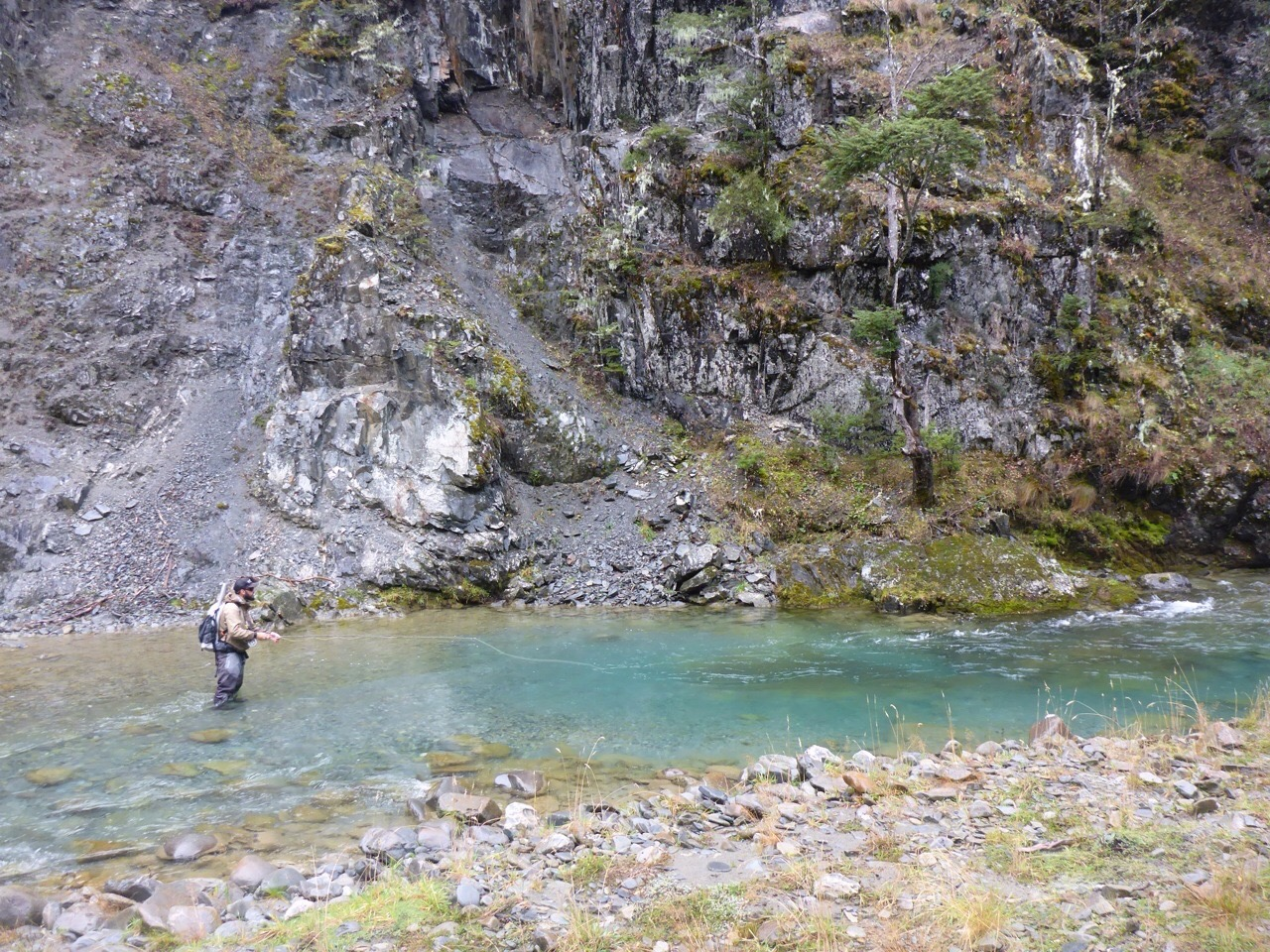 New Zealand back country fly fishing guide Jeff Forsee