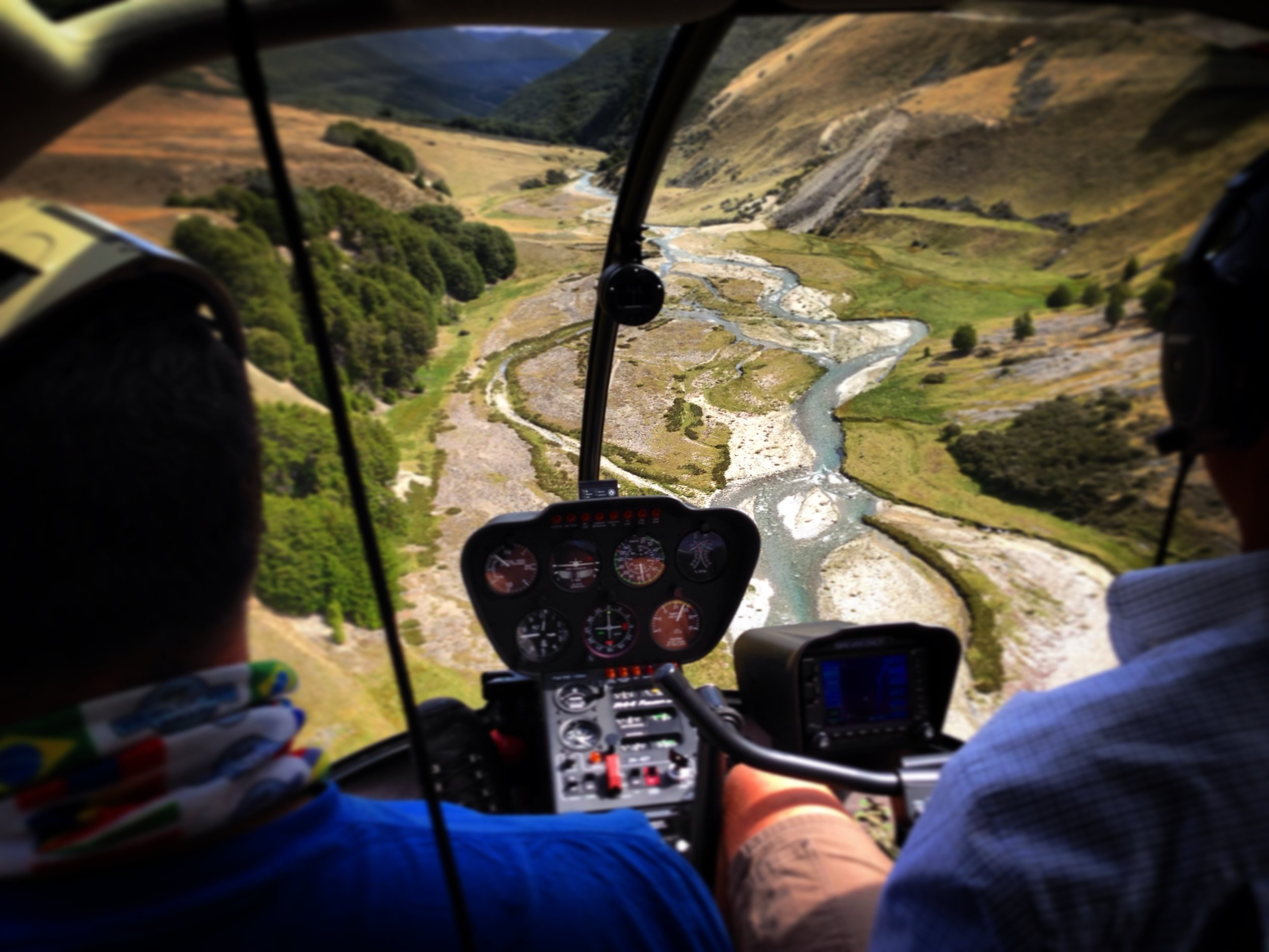 New Zealand heli fly fishing guide