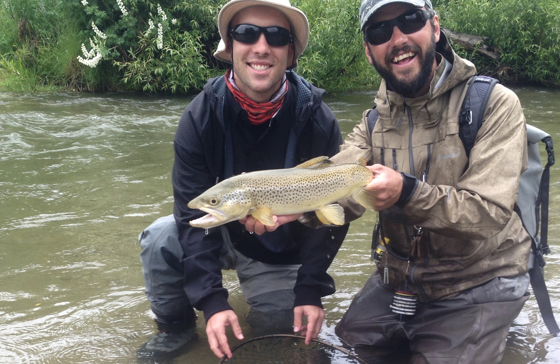 Wanaka New Zealand fly fishing guide Jeff Forsee