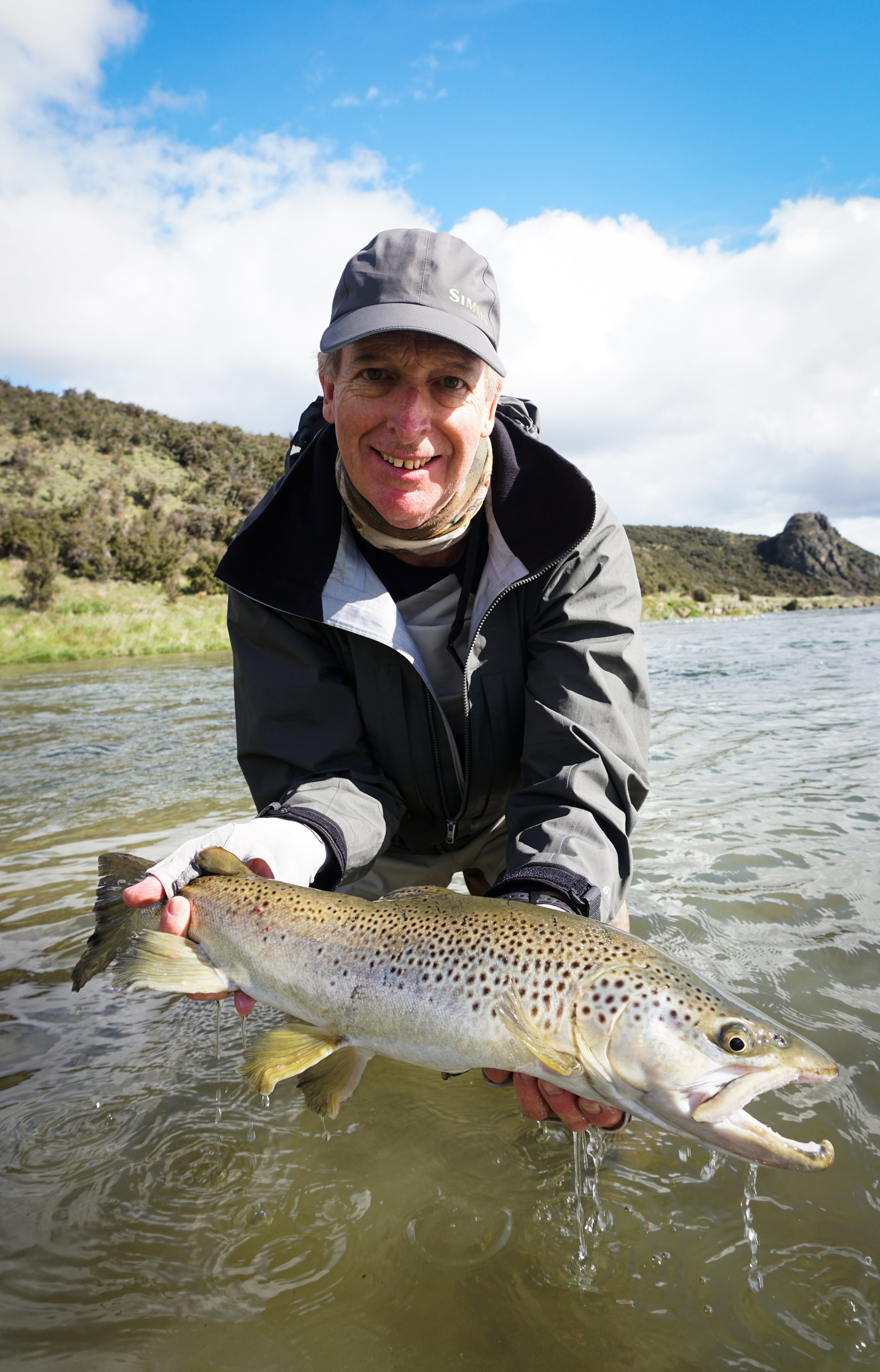 Big New Zealand brown trout