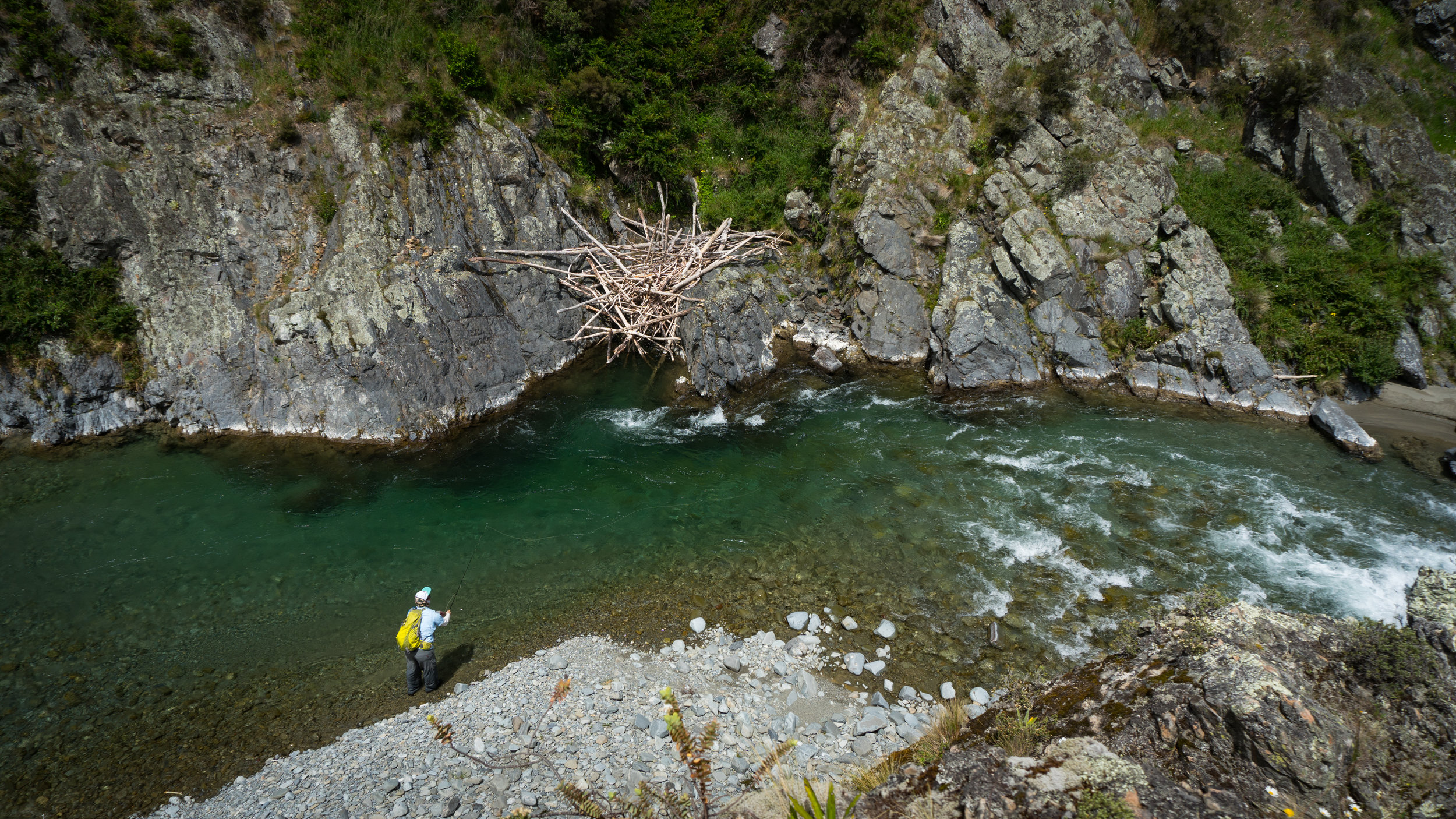 Gorge fishing New Zealand