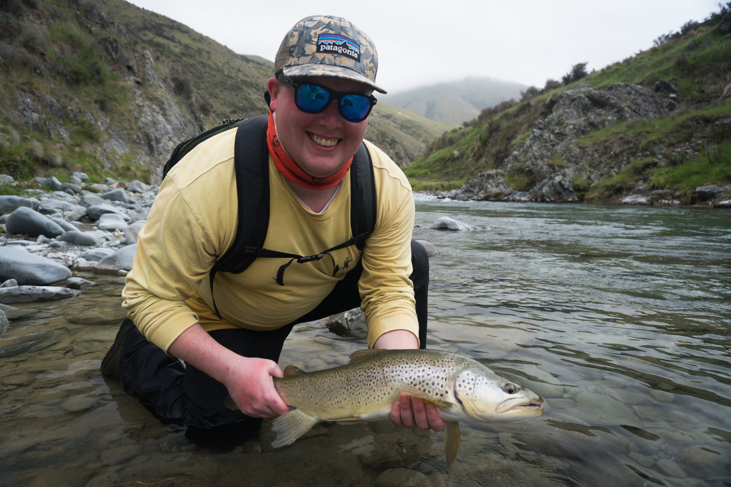 Guided New Zealand fly fishing