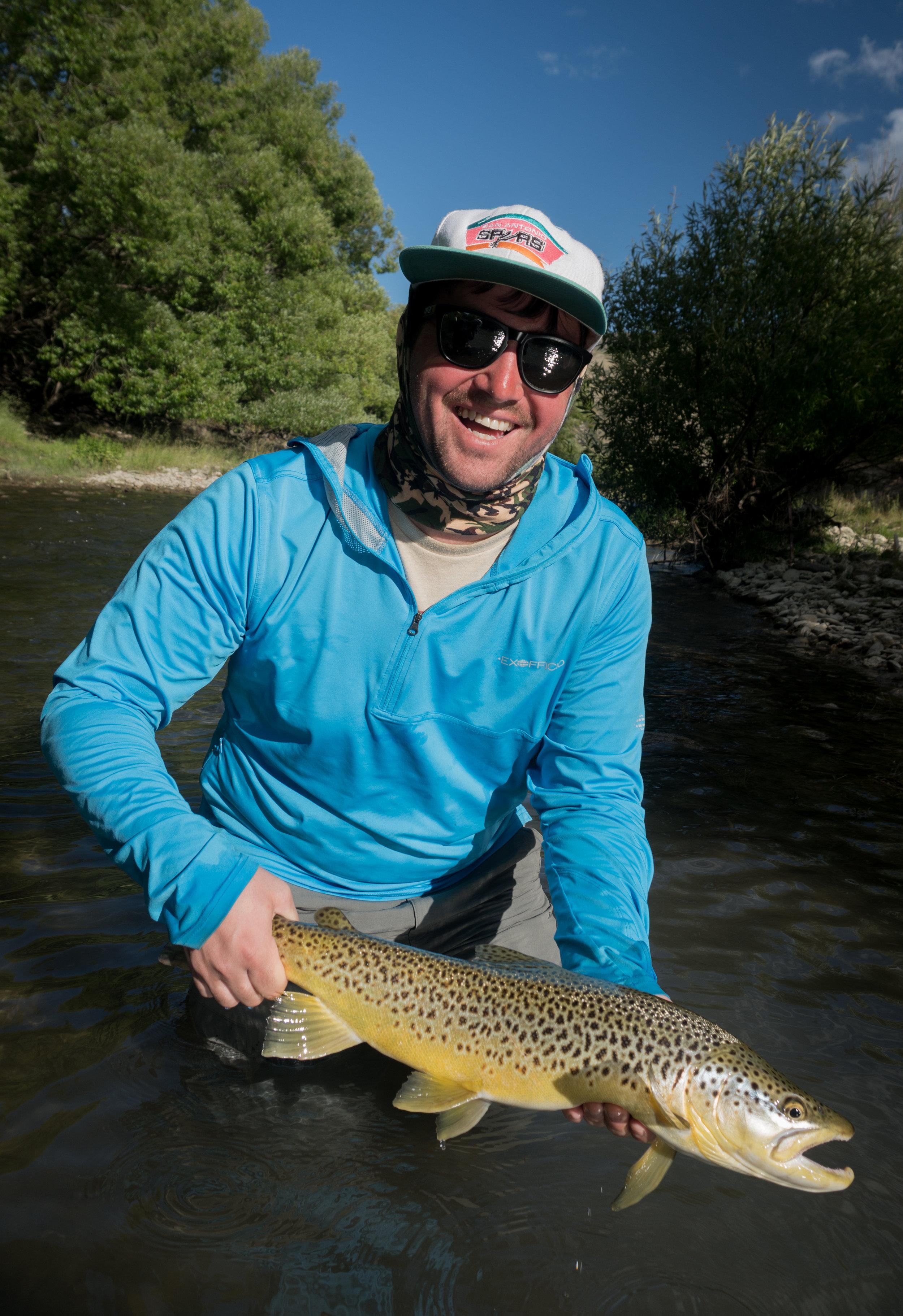 New Zealand dry fly fishing