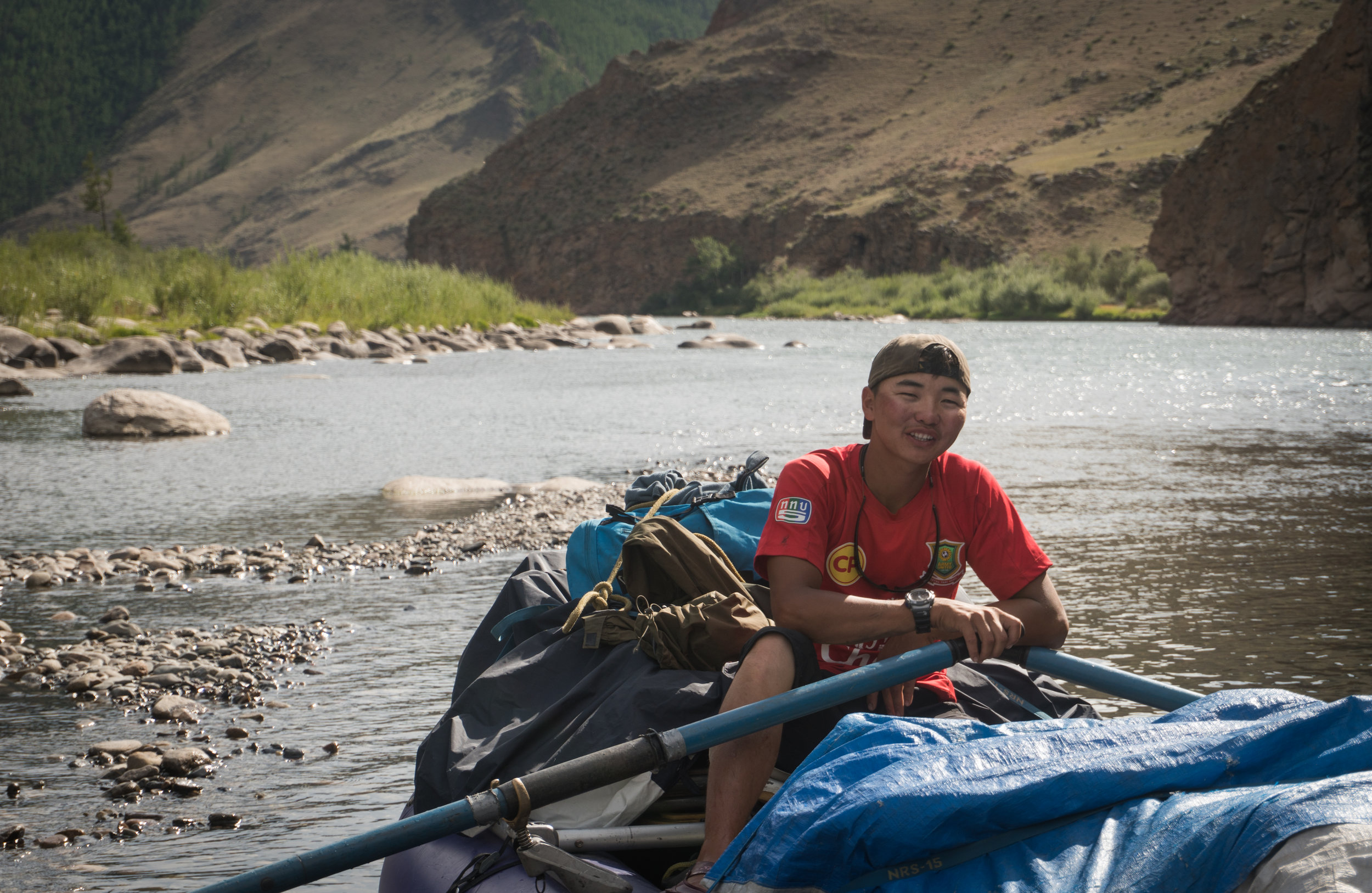 Mongolian fly fishing float trip