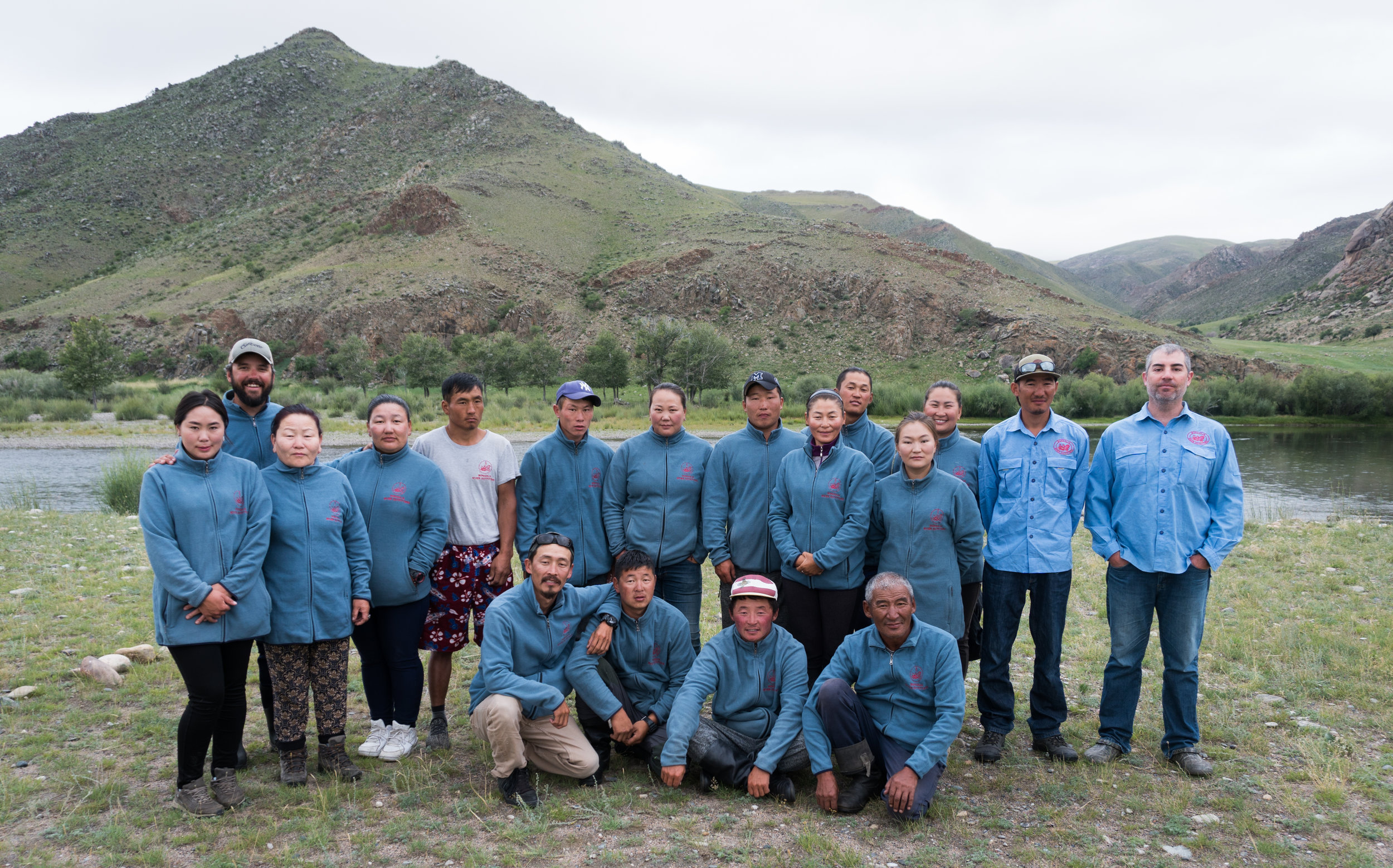 Fish Mongolia camp staff and guides