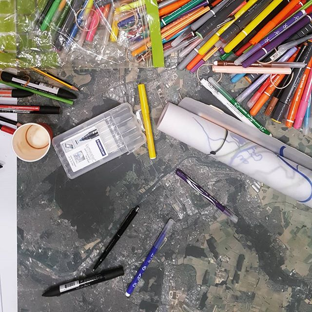 L'Atelier Grand Paris Sud, jour 2. C'est dimanche, mais ça ne chôme pas. Avec les #atelierscergy --- #urbandesign #grandparissud