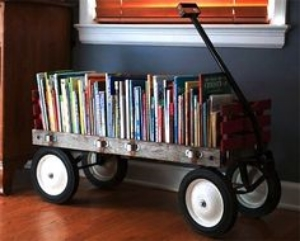 Wagon for books