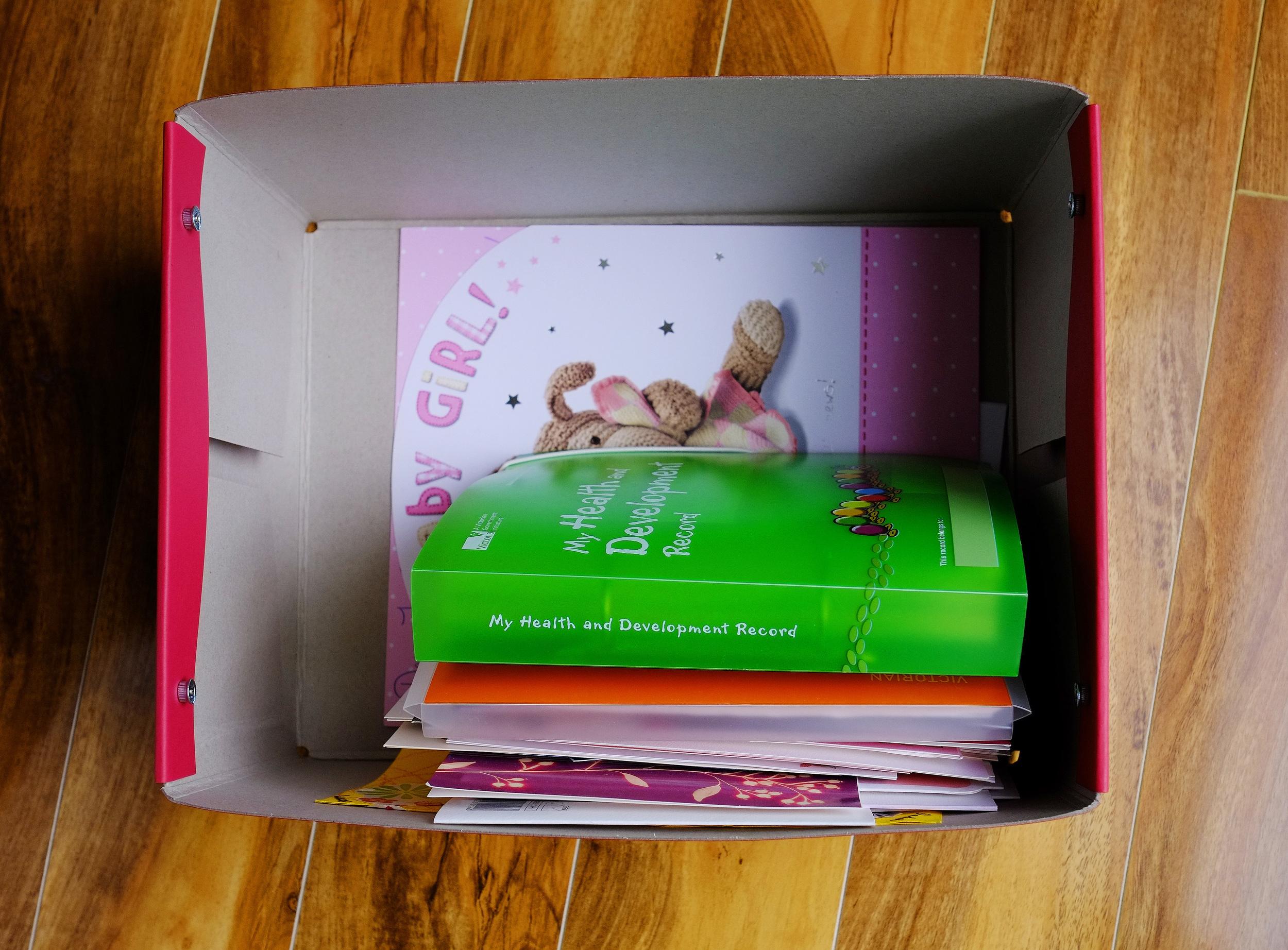Memory box for children