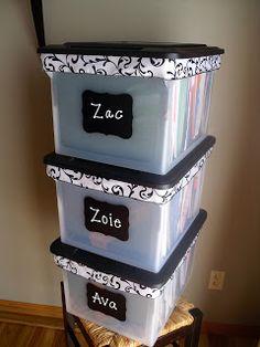 memory storage boxes