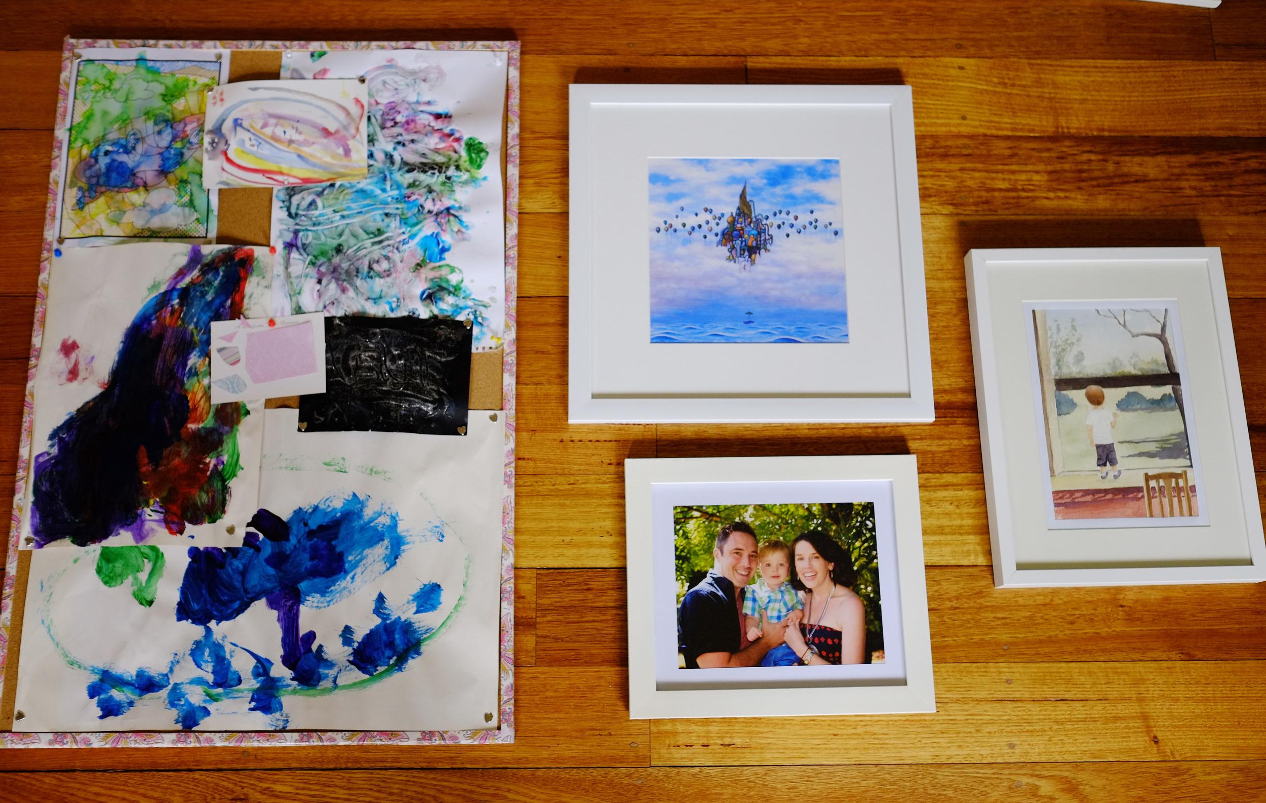 artwork display ideas
